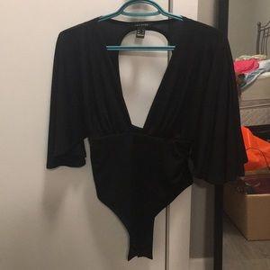Forever 21 Black Bodysuit